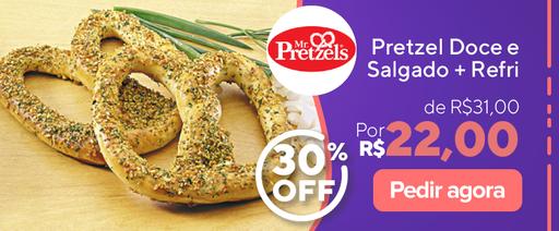 Mr. Pretzel - Rappi promo 30%