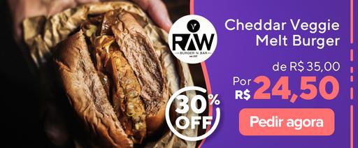 Veggie Raw Burger N Bar 30% OFF