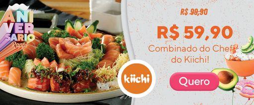 [40%] - Kiichi  Combo do Chef