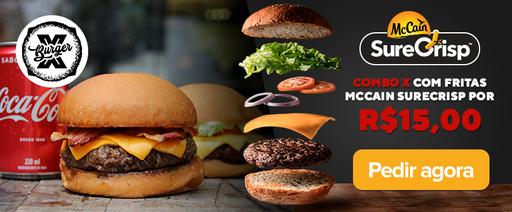 Mc Cain Burger X - 25%
