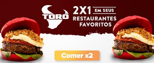 2 por 1 no Fernando de noronha da Toro Burger Brasil
