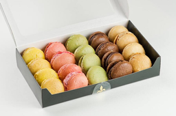 Macarons - Caixa com 14 Unidades