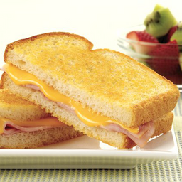 Grilled Cheese And Ham