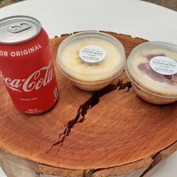 Combo 2 Sobremesas e 2 Mini Refri
