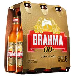 Brahma Zero - 6 Unidades de 355ml