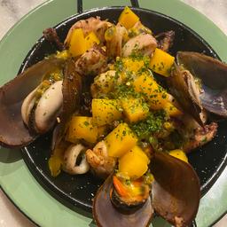 Panelinha de Frutos do Mar