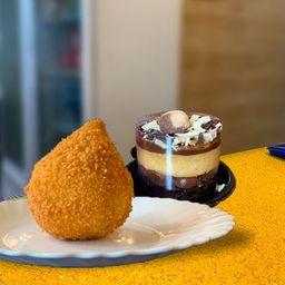 Mini Torta e Coxinha de Frango