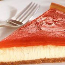 Cheesecake Romeu e Julieta - Fatia