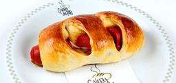 Pão de Batata com Salsicha