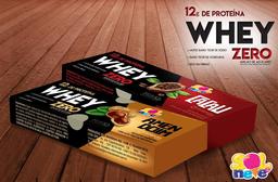 Whey Amendoim Zero Adição de Açúcares