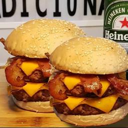 Gran Bacon Cheddar em Dobro