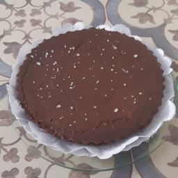 Torta de Chocolate e Caramelo Salgado Grande - 650g