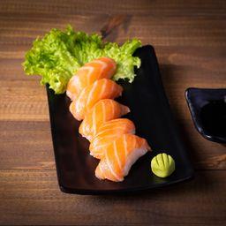 6 niguiri salmão
