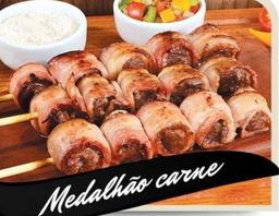 Espetinho de Medalhão Carne c/Bacon
