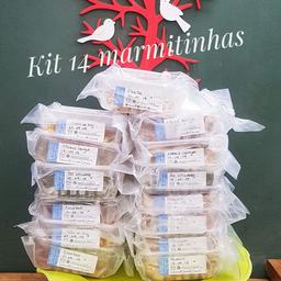 Kit com 14 refeições - 300g