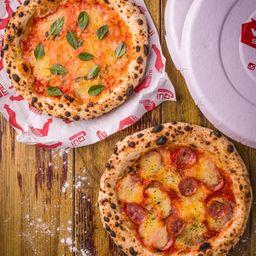 Pizzas Em Dose Tripla
