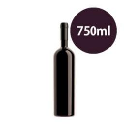 Garrafa de vinho seco 750ml