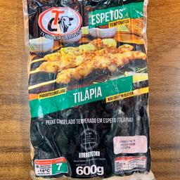 Pacote - Tilápia - 5 Espetos - 400g