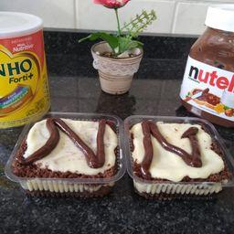 Bolo de Ninho com Nutella