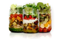 Combo Três Saladas