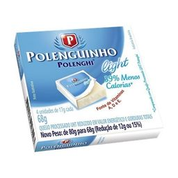 Polenguinho light c/4 68g