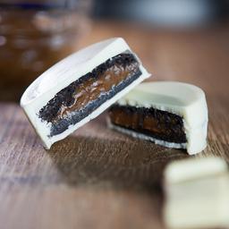 Alfa Dark com Chocolate Branco (100g)