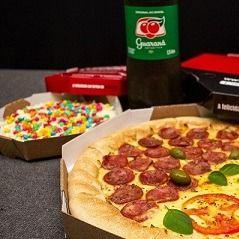 Pizza com Borda + Baby Doce + Refri