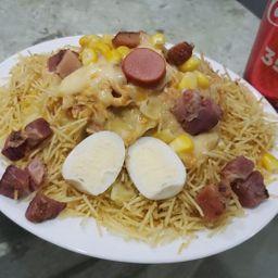 Combo: batata recheada roasted sabor hot-dog!