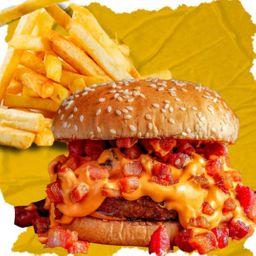 Combo Hoppy Melt e French Fries