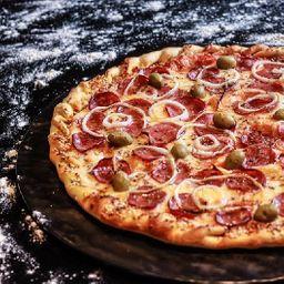 Combo pizza grande e coca cola