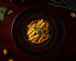 Caserecce Speck, Zucchine e Zafferano