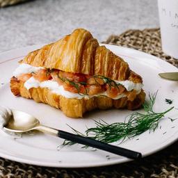 Croissant Salmão