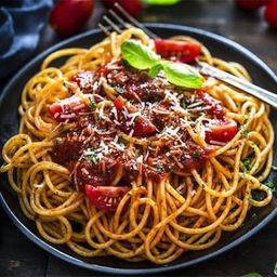 Espaguete a Bolonhesa