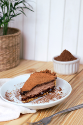 Torta Mousse Chocolate Crocante