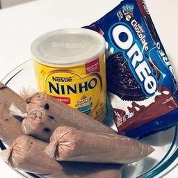 Dindin Gourmet Ninho C/ Oreo