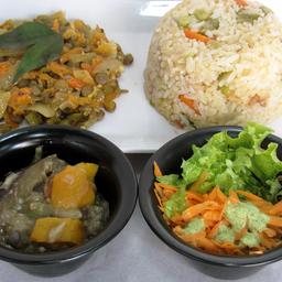 Biryani + Veggie Mix