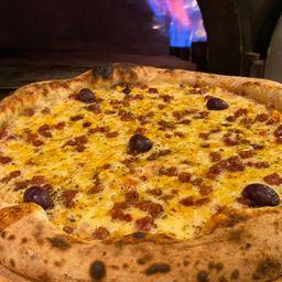 Pizza Vegana Três Sabores - Grande