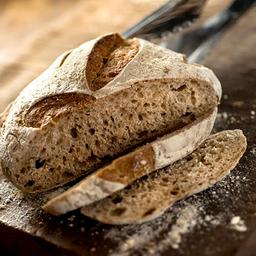 Pão Miche - Metade