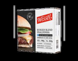 Burger Blend Fraldinha Wessel 360g (2 unidades)