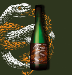 Oroboro aged - belgian dark stong ale - 375 ml