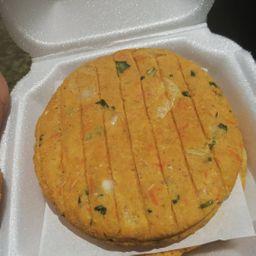 Hambúrguer Vegano de Grão-de-bico (cx 12un))