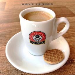 Espresso com panna