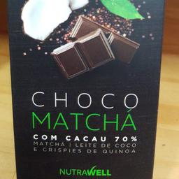 Choco Matchá com 70% Cacau