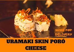 Uramaki Skin Poró Cheese - 8 Unidades