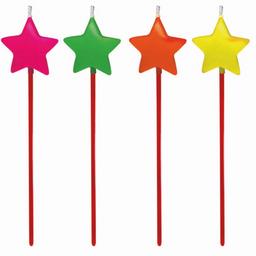Velas Estrelas Coliridas