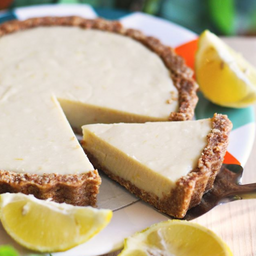 Fatia torta de limão
