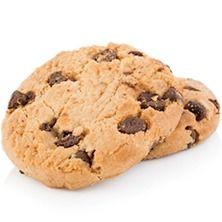 Cookie de Baunilha com Gotas de Chocolate
