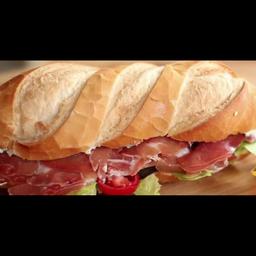 Sanduíche com Presunto Parma