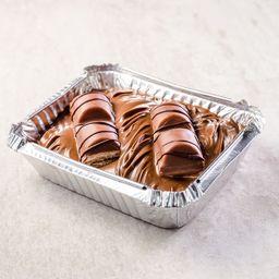 Nutella com Kinder Bueno Preto