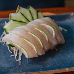 Sashimi Peixe Branco (6 Uni)